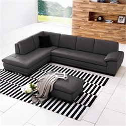 Sectional Sofa in Dark Gray