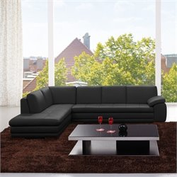 Sectional Sofa in Black 2
