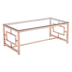 Brika Home Glass Coffee Table 1