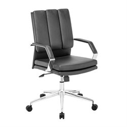 Brika Home Faux Leather Office Chair 2