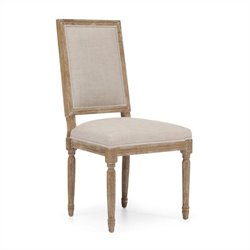 Brika Home Cole Valley Dining Chair in Beige