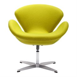 Brika Home Egg Chair in Green