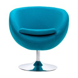 Brika Home Armchair in Island Blue