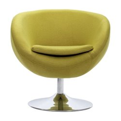 Brika Home Armchair in Pistachio Green
