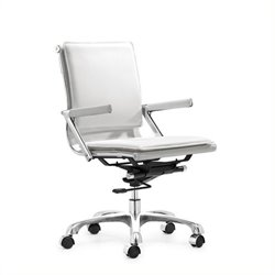 Brika Home Plus Office Chair in White