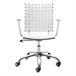 Brika Home Office Chair White