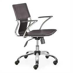 Brika Home Office Chair in Espresso