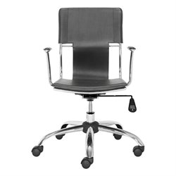 Brika Home Office Chair in Black