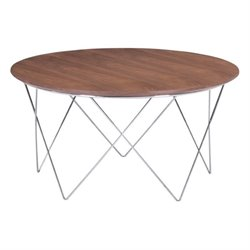 Brika Home Coffee Table in Walnut
