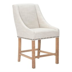 Brika Home Bar Stool in Beige 2