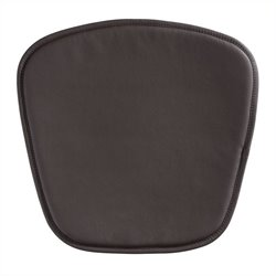 Brika Home Modern Leatherette Chair Cushion