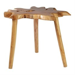 Brika Home End Table in Teak