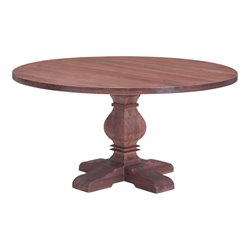 Brika Home Dining Table in Distressed Fir