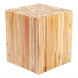 Brika Home Table Stool in Teak