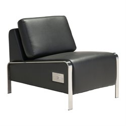MER-1375 Brika Home Thor Faux Leather Armless Chair