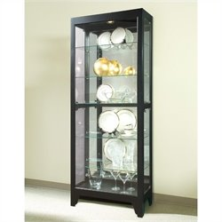 Bowery Hill Onyx Curio Cabinet