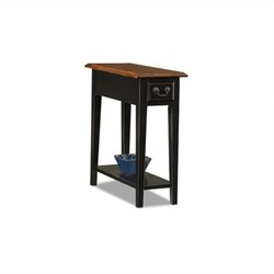 Bowery Hill Chairside End Table in Slate Finish