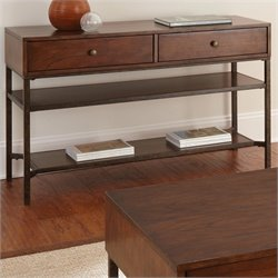 Bowery Hill Sofa Table in Light Espresso