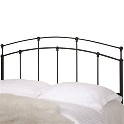 Bowery Hill Full and Queen Spindle Headboard in Black