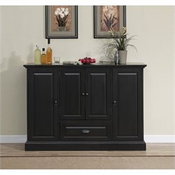 Bowery Hill Home Bar in Antique Black