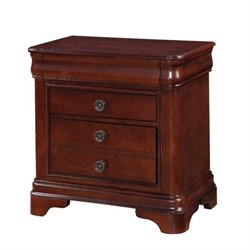 Bowery Hill Nightstand in Traditional Cherry