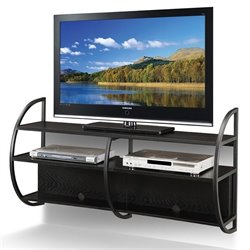 Bowery Hill Floating TV Stand in Slate