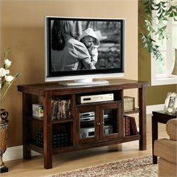 Bowery Hill Console Table/TV Stand in Warm Tobacco