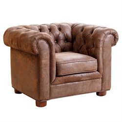 29347 - Mini Fabric Chesterfield Club Chair