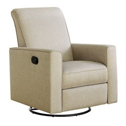 29351 - Nursery Swivel Glider Recliner Chair
