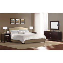 Platform Bed 5 Piece Bedroom Set