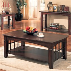 Bowery Hill Coffee Table in Cherry