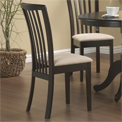 MER-757 Bowery Hill Dining Chair with Upholstered Seat