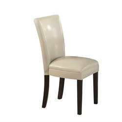 Bowery Hill Upholstered Dining Chair in Cream