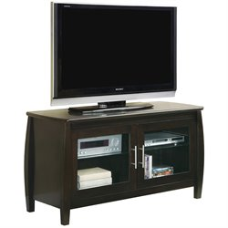 Bowery Hill Contemporary TV Stand in Cappucino