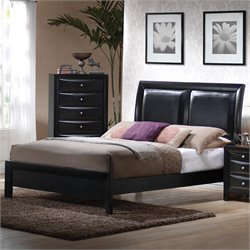Bowery Hill Low Profile Upholstered Bed