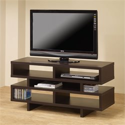 Bowery Hill Contemporary TV Console with Open Storage