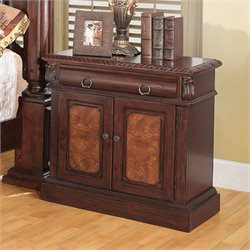 Bowery Hill Nightstand in Warm Cherry