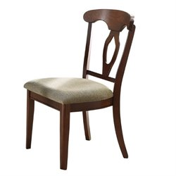 Bowery Hill Splat Back Dining Chair in Cherry