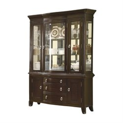Bowery Hill China Cabinet in Espresso