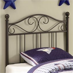 Bowery Hill Youth Headboards Twin Metal Headboard