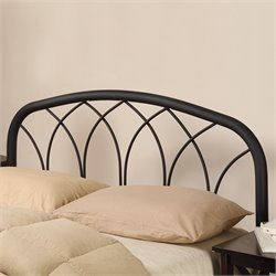 Bowery Hill Full Queen Spindle Headboard in Black