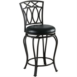 MER-757 Bowery Hill Elegant Metal Stool in Black