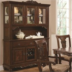 Bowery Hill Traditional China Cabinet in Cherry