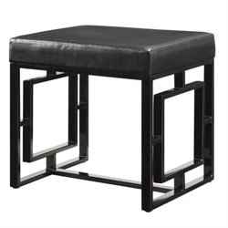 Bowery Hill Petite Bench in Black