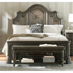 Bowery Hill Panel Bed in Vintage Espresso