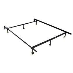 Bowery Hill Twin Full Bed Frame in Black