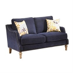 Bowery Hill Loveseat in Blue