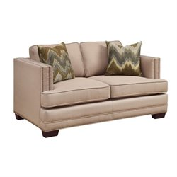 Bowery Hill Loveseat in Ecru