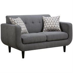 Bowery Hill Modern Loveseat