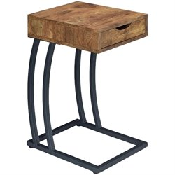 Bowery Hill 1 Drawer End Table with Outlets
